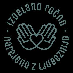 izdelano ročno logo
