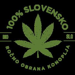 konoplja logo 100% slovensko