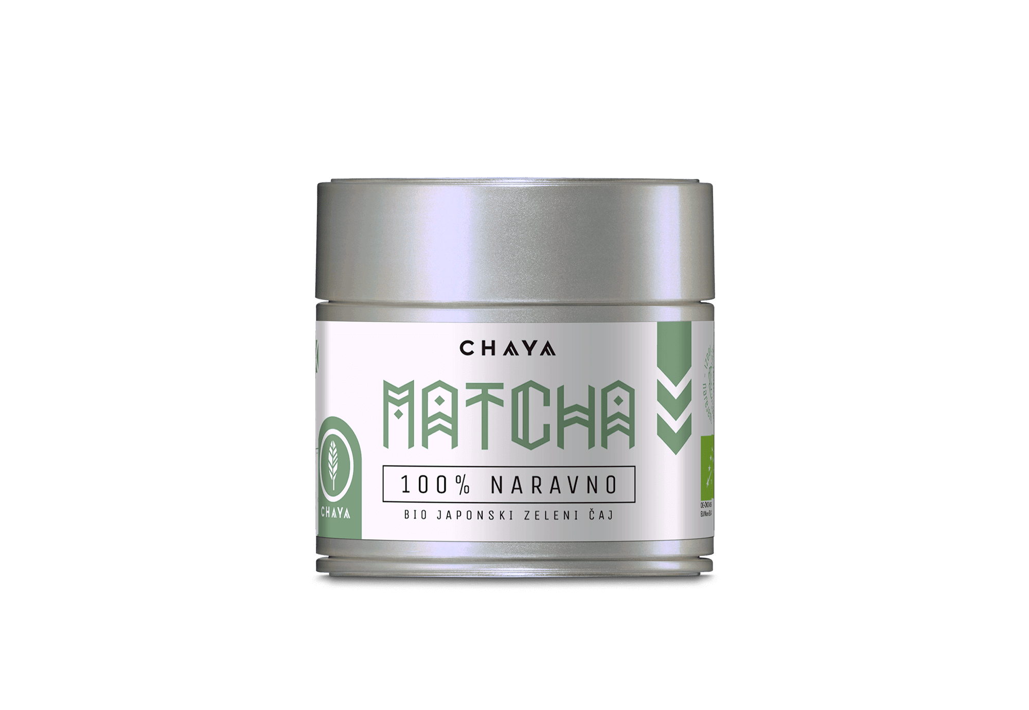 Embalaža Matcha čaja