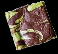 Matcha brownie