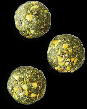 Matcha kroglice