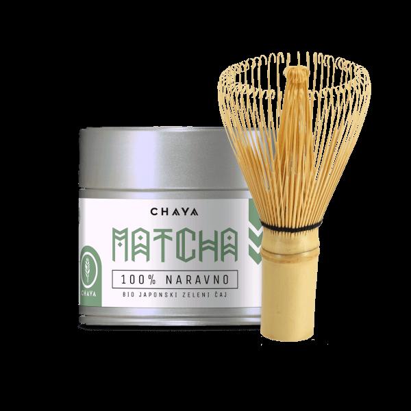 Set Matcha in bambusova metlica
